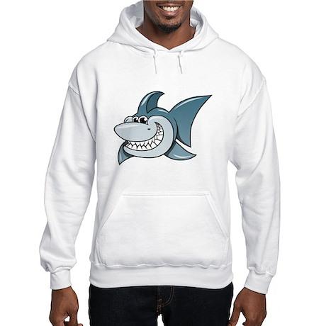 Cartoon Shark Hoodie Sweatshirt