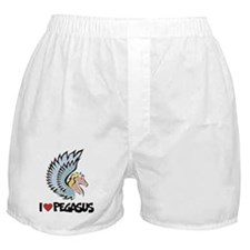 I Love Pegasus Boxer Shorts