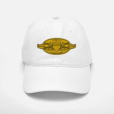 Company Commander <BR>White Or Khaki Baseball Baseball Cap