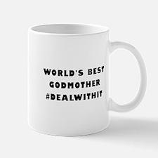 World's Best Godmother (Hashtag) Mug