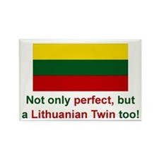 Lithuanian Twin-Perfect Rectangle Magnet