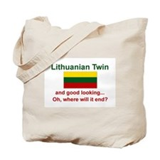 Lithuanian Twin-Good Looking Tote Bag