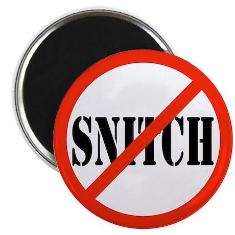 Yo Bitch STOP Snitchin Magnet
