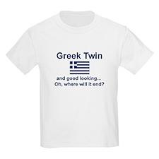 Greek Twin-Good Looking Kids T-Shirt