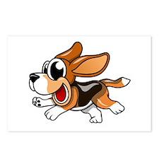 Cartoon Beagle Postcards (Package of 8)