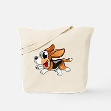 Cartoon Beagle Tote Bag