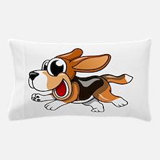 Cartoon Beagle Pillow Case