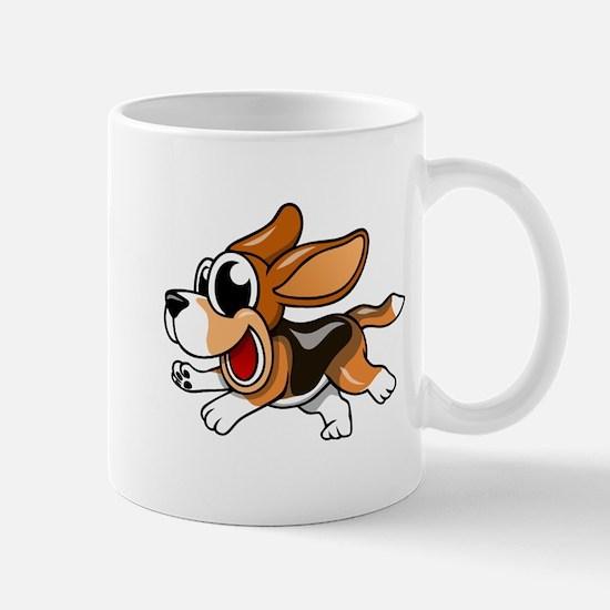 Cartoon Beagle Mugs
