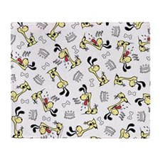Vintage Odie Throw Blanket