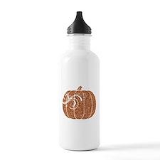 Halloween Pumpkin Sports Water Bottle