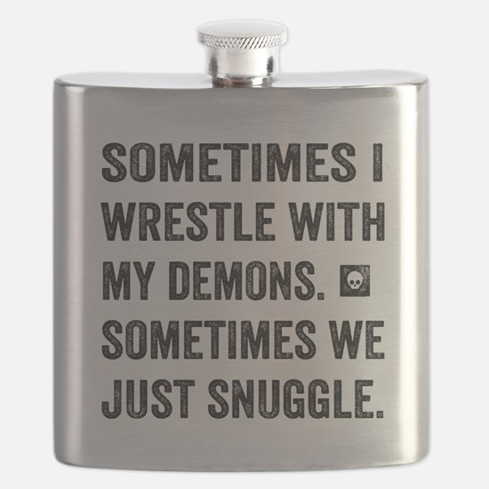 Wrestle With My Demons Flask
