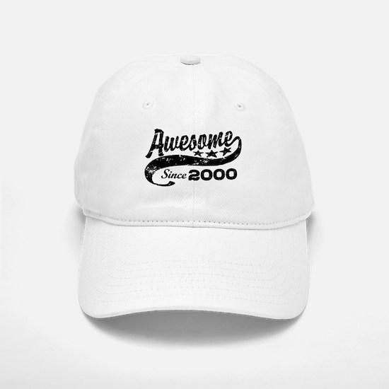 Awesome Since 2000 Baseball Baseball Cap
