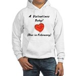 Valentines baby Hooded Sweatshirt