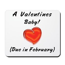 Valentines baby Mousepad