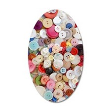 Button, Button Wall Decal