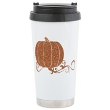 Halloween Pumpkin 2 Stainless Steel Travel Mug