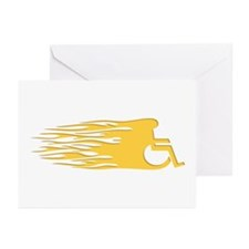 Speed Wheeling -1L Greeting Cards (Pk of 10)