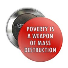 poverty ... Button
