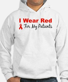 I Wear Red For My Patients Hoodie