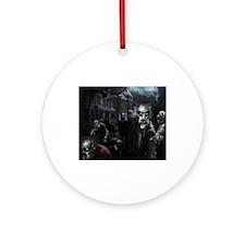 Zombie Friends Ornament (Round)