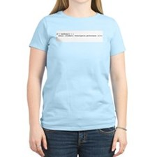 More Cowbell Code Women's Pink T-Shirt