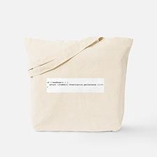 More Cowbell Code Tote Bag