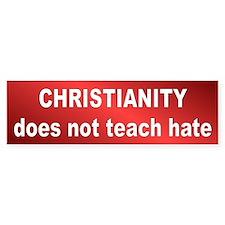 no hate... Bumper Stickers