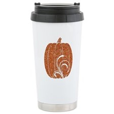 Halloween Pumpkin 3 Stainless Steel Travel Mug