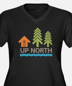 Up North Plus Size T-Shirt