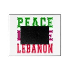Peace Love Lebanon Picture Frame