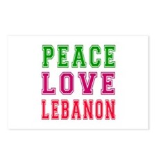 Peace Love Lebanon Postcards (Package of 8)