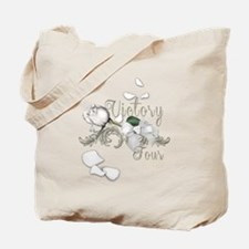 Victory Tour Tossed Rose Petals Tote Bag