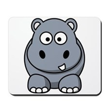 Cartoon Hippo Mousepad