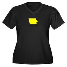 Hawkeye State t-shirt Plus Size T-Shirt