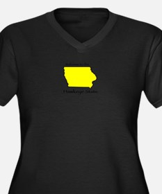 Hawkeye State t-shirt Plus Size T-Shirt