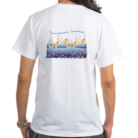 Synchronized swimming White T-Shirt