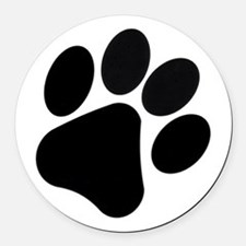 Dog Car Magnets Personalized Dog Magnetic Signs For Cars CafePress - Custom car magnets paw print