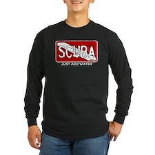 ScubaAddWater2 Long Sleeve T-Shirt