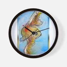 Goldfish, fish art, Wall Clock