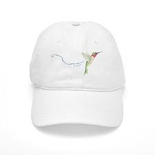 cheerful hummingbird Baseball Cap