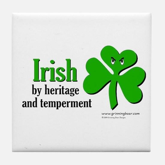 Irish Heritage Tile Coaster