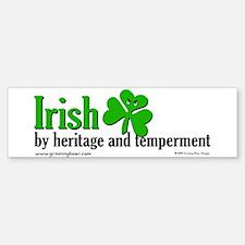 Irish Heritage Bumper Bumper Bumper Sticker
