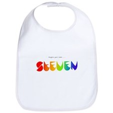 Steven rainbow Bib