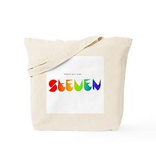 Steven rainbow Tote Bag