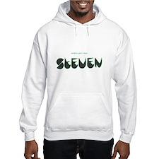 Steven black and green Hoodie