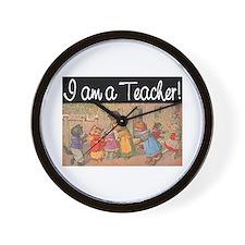 I AM A TEACHER Wall Clock