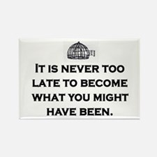 NEVER TOO LATE Rectangle Magnet (10 pack)