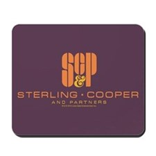 SC&P Mad Men Logo Mousepad