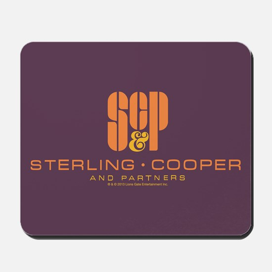 SC&P Mad Men Logo Mousepad