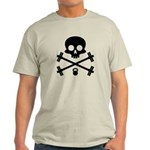 Skull and Cross Fitness Light T-Shirt